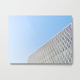 American Cement Building Metal Print