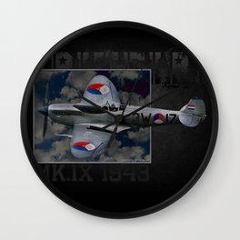 Spitfire 3W-17 Wall Clock