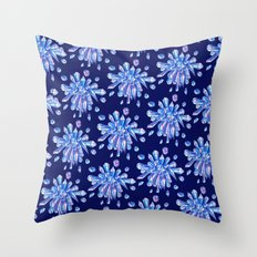 Zero Gravity Crystals Throw Pillow