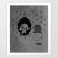 Darksided Art Print
