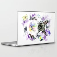 scarface Laptop & iPad Skins featuring Daubie the fortune teller  by Psyca