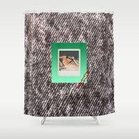 punk Shower Curtains featuring PUNK by MODERN UNDERGROUND