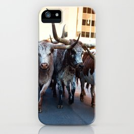 Denver National Western Stock Show Kick-of Parade 2018 iPhone Case