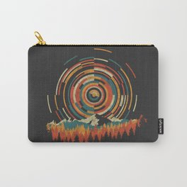 The Geometry of Sunrise Carry-All Pouch