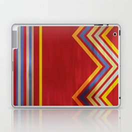 Stripes and Chevrons Ethic Pattern Laptop & iPad Skin