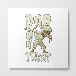 Halloween Dab Metal Print