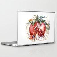 pomegranate Laptop & iPad Skins featuring Pomegranate by Irina Vinnik