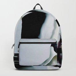 glitch art, portrait Backpack
