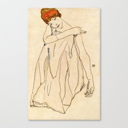 Egon Schiele - Dancer Canvas Print