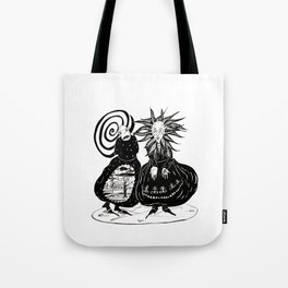 Demons Of The Future Tote Bag