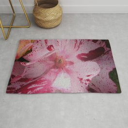 Rose Abstract Rug