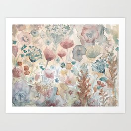 jardin 2 Art Print