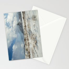 The Land of snow Stationery Cards