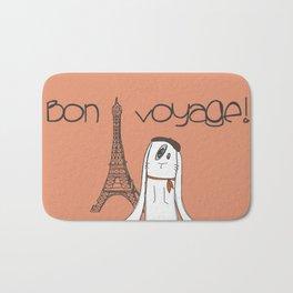 Bon Voyage! Bath Mat
