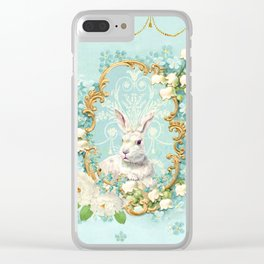 The White Rabbit Clear iPhone Case