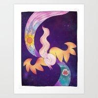 Meditation Dream  Art Print