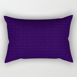 Navy Wall Rectangular Pillow