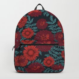 Daisy & Peonies Backpack