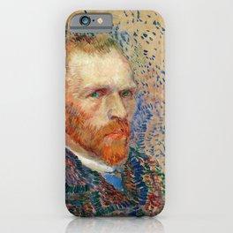 Vincent van Gogh - Self-portrait - Digital Remastered Edition iPhone Case
