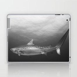 Tiger Shark, Black & White Laptop & iPad Skin