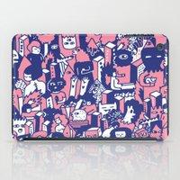 city iPad Cases featuring city by Regina Rivas Bigordá