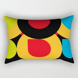 I Love Colors, and tiny little mistakes in the top right corners.... :) Rectangular Pillow