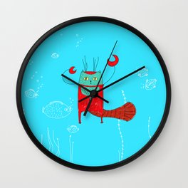 Losbter Helvetic Wall Clock