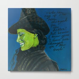 Elphaba-Wicked Metal Print