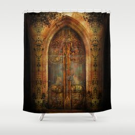 Impossibilium Shower Curtain
