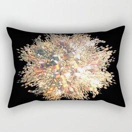 Pink Explosion Rectangular Pillow