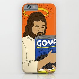 Jesus con Goya iPhone Case