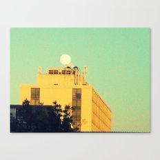 Moon Over Morse Avenue Canvas Print