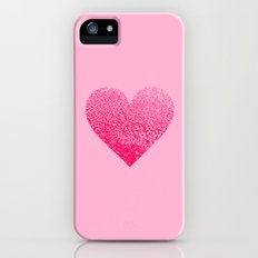 PINK PINK HEART Slim Case iPhone (5, 5s)