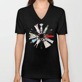 Audrey Hepburn Circle Fashion Unisex V-Neck