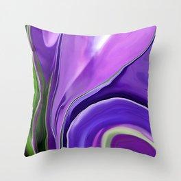 Crocus Abstract16 Throw Pillow