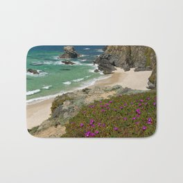 Wild flowers on the Alentejo coast, Portugal Bath Mat