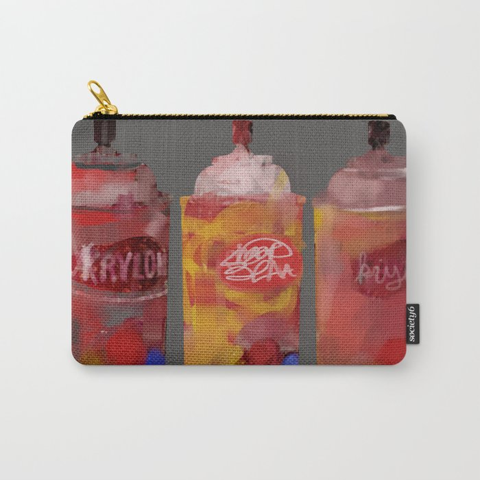 Spray Paint Cans Carry All Pouch By Gingerblah