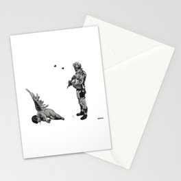 Banksy Soldier With Fallen Angel Artwork Reproduction for Prints Posters Tshirts Men Women Kids Stationery Cards