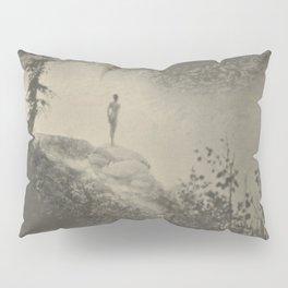 Self Portrait, Nude, Anne Brigman black and white art photography / photograph Pillow Sham