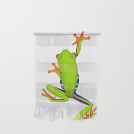 Tree Frog Climbing Wall Hanging