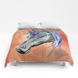 Geode Unicorn Comforters