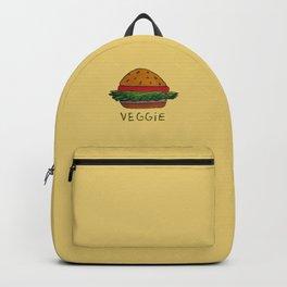 veggie burger Backpack