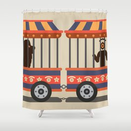circus l.eye.on Shower Curtain