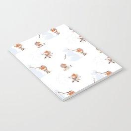 Winter Fox Pattern Notebook