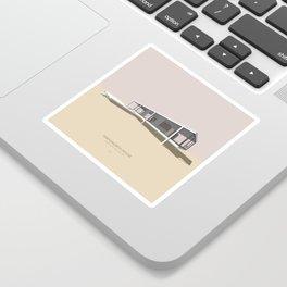 Farnsworth House Mies van der Rohe Sticker