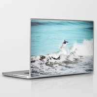 surfer Laptop & iPad Skins featuring Surfer by Sherman Photography
