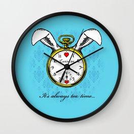 Curiouser Wall Clock