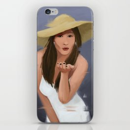 Blowkiss iPhone Skin