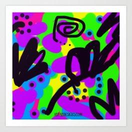 Jamba Jive Art Print