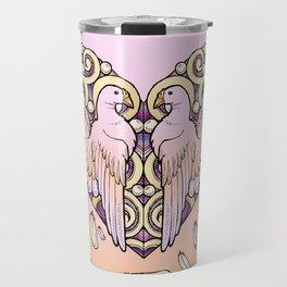 Lover Pigeons - Royal Heart Travel Mug